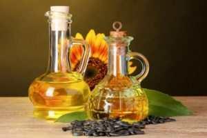 подсолнечное масло при гастрите