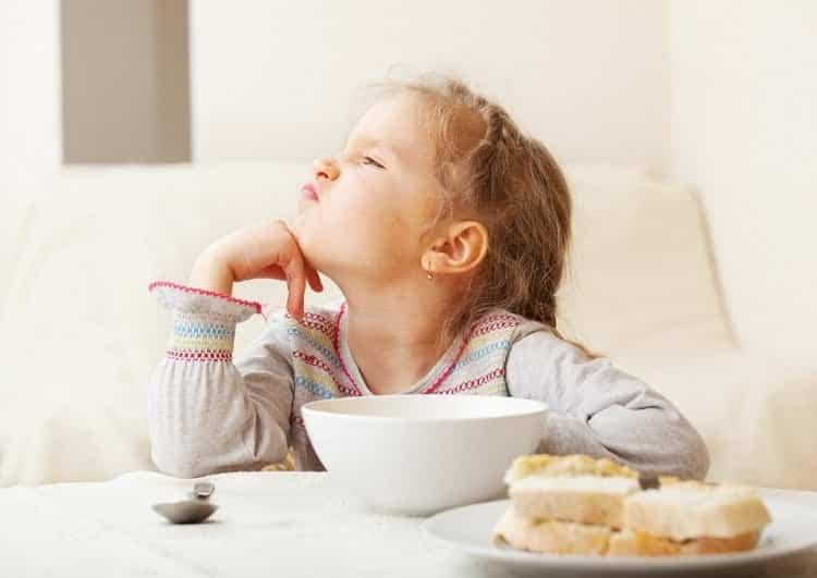 отсутствует аппетит у ребенка