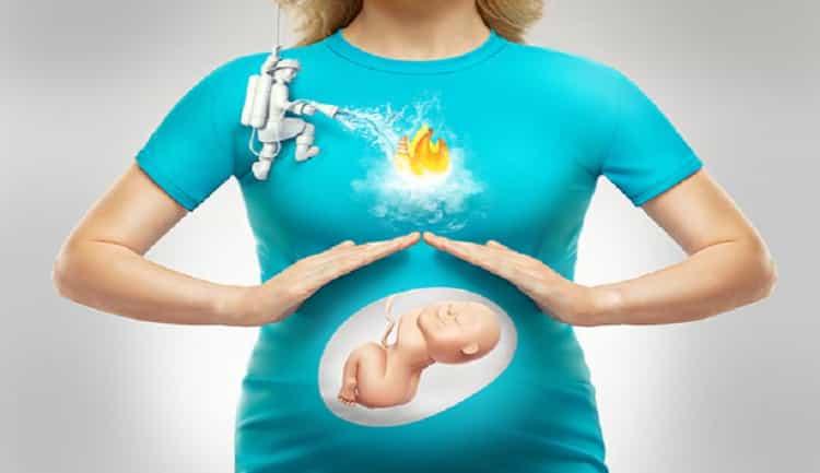 чем лечить изжогу при беременности